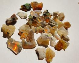 39.12ct lot Cutting Rough Noobie Welo Opal