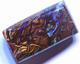 "18.85 carats Yowah Cut Stone  ""double sided"" IA89"