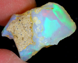 10cts Natural Ethiopian Welo Rough Opal / WR5378