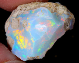 7cts Natural Ethiopian Welo Rough Opal / WR5387
