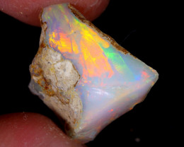 8cts Natural Ethiopian Welo Rough Opal / WR5391