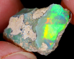 11cts Natural Ethiopian Welo Rough Opal / WR5396