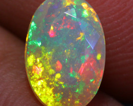 0.91 CT 9X6 MM Top Quality!! Welo Ethiopian Faceted Opal-CF41