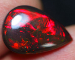50% OFFER 3.85cts Strong Red Fire Ethiopian Welo Opal