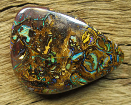 72cts, TOP PATTERN TOP COLOUR QUEENSLAND OPAL.