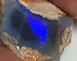 N3 Black Crystal Nobby Opal - Vibrant Consistent Bar, Double Sided Rough
