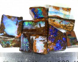 90ct 10pcs Natural Boulder Opal Rough Parcel [BRP-148]