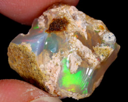 11cts Natural Ethiopian Welo Rough Opal / WR5438