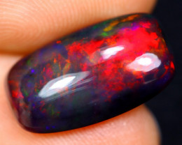 3.63cts Natural Ethiopian Welo Smoked Opal / HM1380