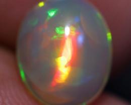 1.54CT 10X8MM Broadflash Pattern!! Welo Ethiopian Opal-CF66