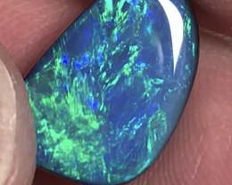 Super Vivid Jewellery Grade Opal Doublet- Stunning #2166