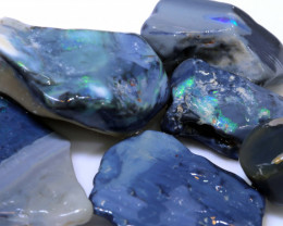 200CTS  BLACK OPAL ROUGH  L. RIDGE PARCEL   DT-A4048