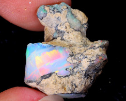13cts Natural Ethiopian Welo Rough Opal / WR5454