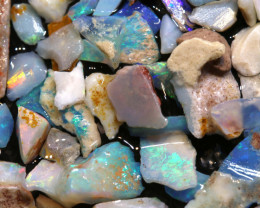 29CTS COOBERPEDY OPAL INLAY ROUGH PARCEL DT-A4059