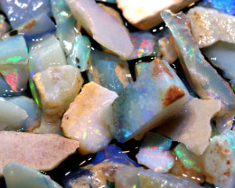21CTS COOBERPEDY OPAL INLAY ROUGH PARCEL DT-A4060