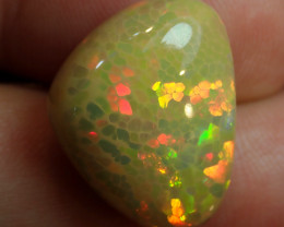 9.16ct Honeycomb No Reserve  Welo Solid Opal