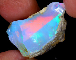22cts Natural Ethiopian Welo Rough Opal / WR5531