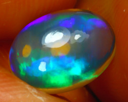 Welo Opal 1.65Ct Natural Ethiopian Play of Color Opal J2802/A3