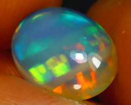 Welo Opal 1.57Ct Natural Ethiopian Play of Color Opal J2805/A3