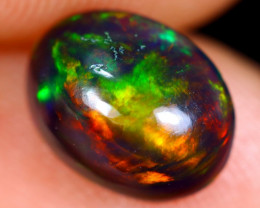 1.02cts Natural Ethiopian Welo Smoked Opal / NY621