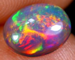 0.88cts Natural Ethiopian Welo Smoked Opal / NY623