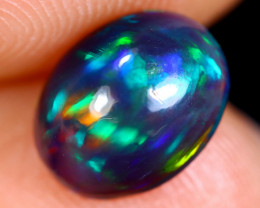 1.11cts Natural Ethiopian Welo Smoked Opal / NY626