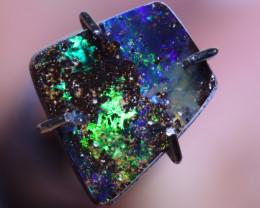 1.23 carats  Boulder Opal Polished Stone ANO 1113