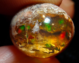 6.74ct Mexican Cantera Fire Opal Stone