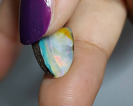 4.95cts PRETTY MULTI COLOUR BOULDER OPAL(ONRA-B20211)