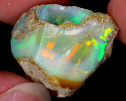 18cts Natural Ethiopian Welo Rough Opal / WR5555