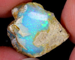 5cts Natural Ethiopian Welo Rough Opal / WR5557