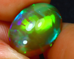 Welo Opal 4.32Ct Natural Ethiopian Play of Color Opal H2901/A44