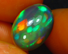 Welo Opal 2.63Ct Natural Ethiopian Play of Color Opal H2904/A44