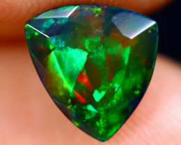 1.33cts Natural Ethiopian Welo Faceted Smoked Opal / NY698