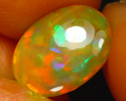 Welo Opal 2.72Ct Natural Ethiopian Play of Color Opal J3004/A44