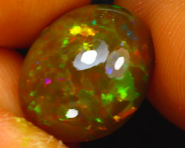 Welo Opal 2.60Ct Natural Ethiopian Play of Color Opal J3006/A44