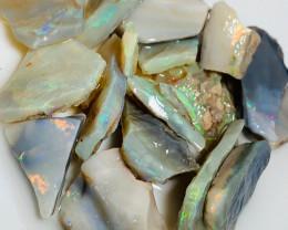 Cutters Grade Bright Rough Seam Opals - Rough to Cut