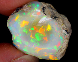 11cts Natural Ethiopian Welo Rough Opal / WR5622