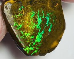 Top End Super Gem Saturated Bright Matrix Boulder Opal Rub#2200
