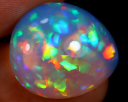 12.28cts Natural Ethiopian Welo Opal / BF4853