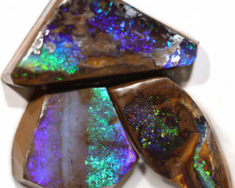 54.00 CTS BOULDER OPAL ROUGH RUBS  PARCEL CS487