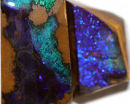 75.00 CTS BOULDER OPAL ROUGH RUBS  CS491