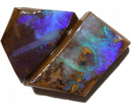 74.00 CTS BOULDER OPAL ROUGH RUBS  CS492