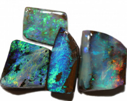 40.00 CTS BOULDER OPAL ROUGH RUBS  PARCEL CS494