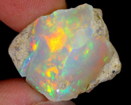 15cts Natural Ethiopian Welo Rough Opal / WR5632