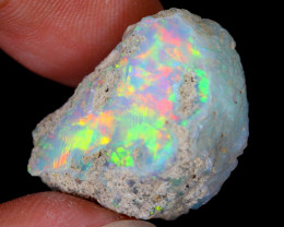 21cts Natural Ethiopian Welo Rough Opal / WR5636