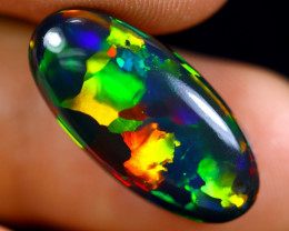 6.78cts Natural Ethiopian Welo Smoked Opal / HM1464