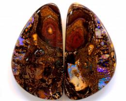102.60 cts Australian Yowah Opal Pair DO-1203