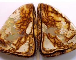 72.40 cts Australian Yowah Opal Pair DO-1215