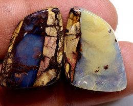 54.35 cts Australian Yowah Opal Pair DO-1221